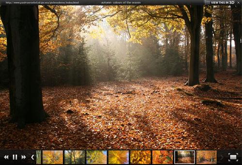 PicLens-Slideshow