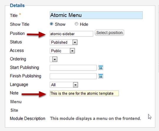 Настраиваем разные шаблоны для разных страниц в Joomla