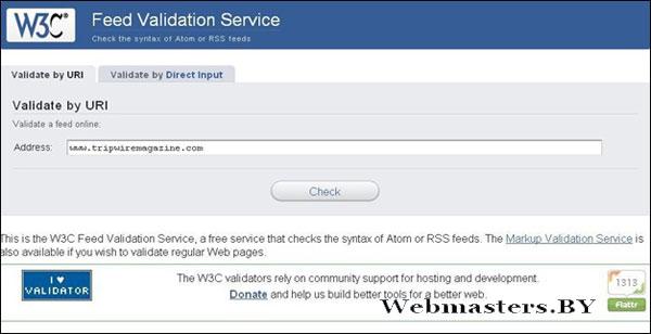 FeedValidationService