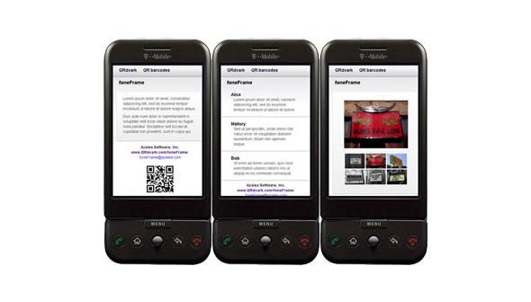 foneFrame –  HTML5&CSS3 веб-фрэймворк для мобильных устройств
